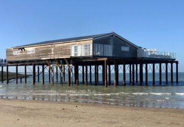 Paalfundering Strandclub Zee